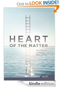 Amazon.com  Heart of the Matter  Daily Reflections for Changing Hearts and Lives eBook  Kindle Store