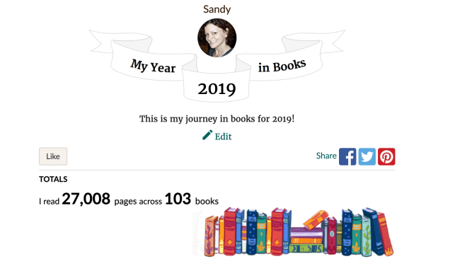 2019 year in books