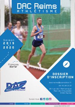 Calendrier Marche Nordique 2020.Inscription 2019 2020 Dac Reims Athletisme