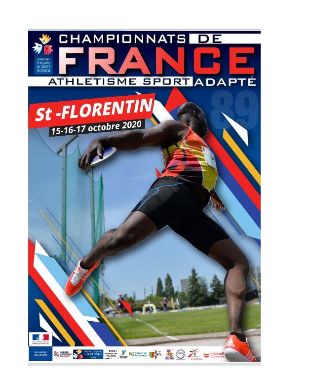 championnats de france sport adapté athlétisme