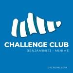 challenge club benjamin minime