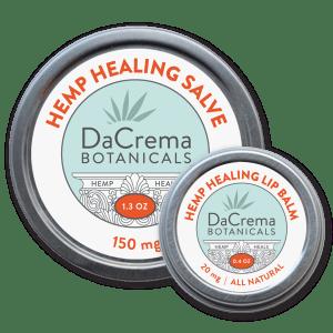 Dacrema Botanicals Hemp Healing Product Combo Pack