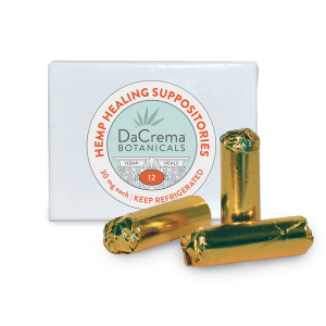 Dacrema Botanicals Hemp Suppositories