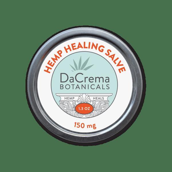 Dacrema Botanicals 150 Hemp Healing Salve