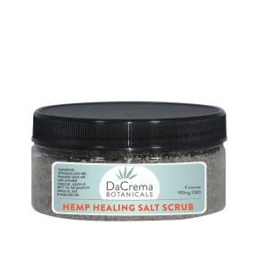 DaCrema Botanicals CBD Salt Scrub 4oz product