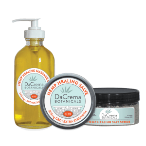 Dacrema Botanicals Organic CBD Oil Products