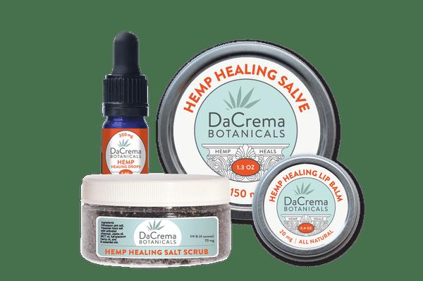 Dacrema Botanicals CBD Infused Products Combo Pack