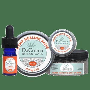 Dacrema Botanicals CBD Products Combo Pack