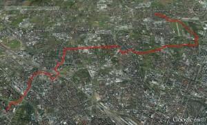 percorso bici