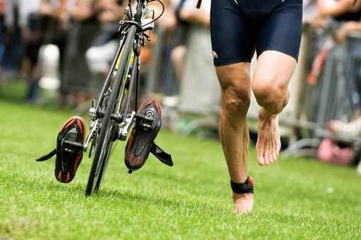 Prove di transizioni per il triathlon
