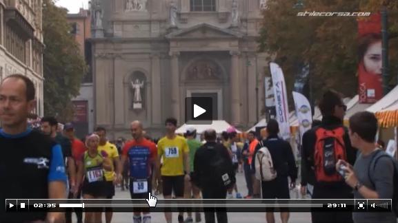 Il video della Mezza Maratona di Bergamo