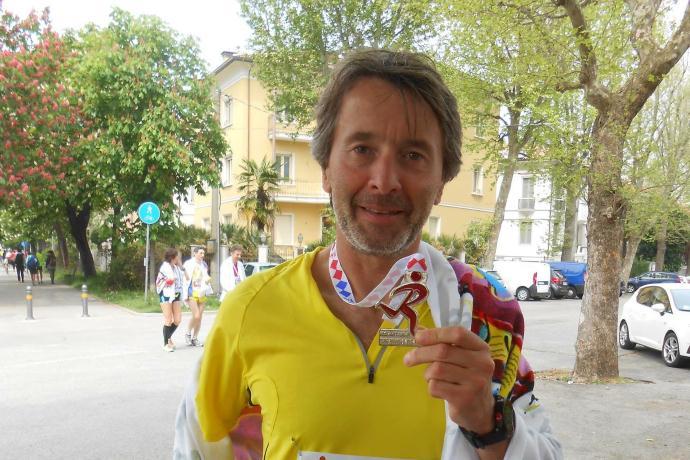 La mia prima maratona – di Andrea Turchi
