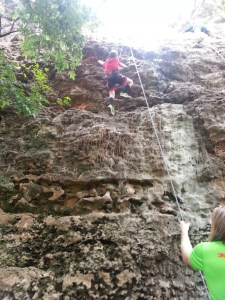 More rock climbing at Reimer's Ranch
