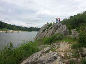 A view of the Pedernales River