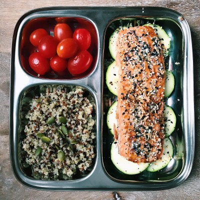 Everything Bagel Crusted Salmon