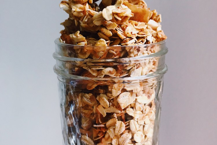 Gluten-Free Tahini Granola
