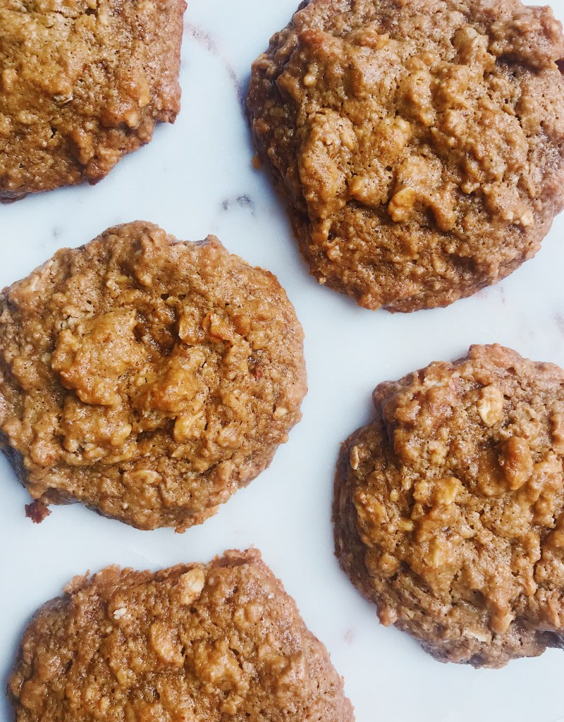 Tahini Granola Cookies (Gluten-Free, Dairy-Free)