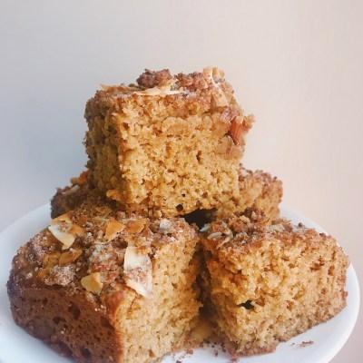 Coconut Crumb Coffee Cake (Dairy-Free, Nut-Free, Gluten-Free option)