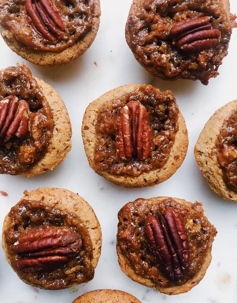 Best Vegan Mini Pecan Pies (Gluten-Free)