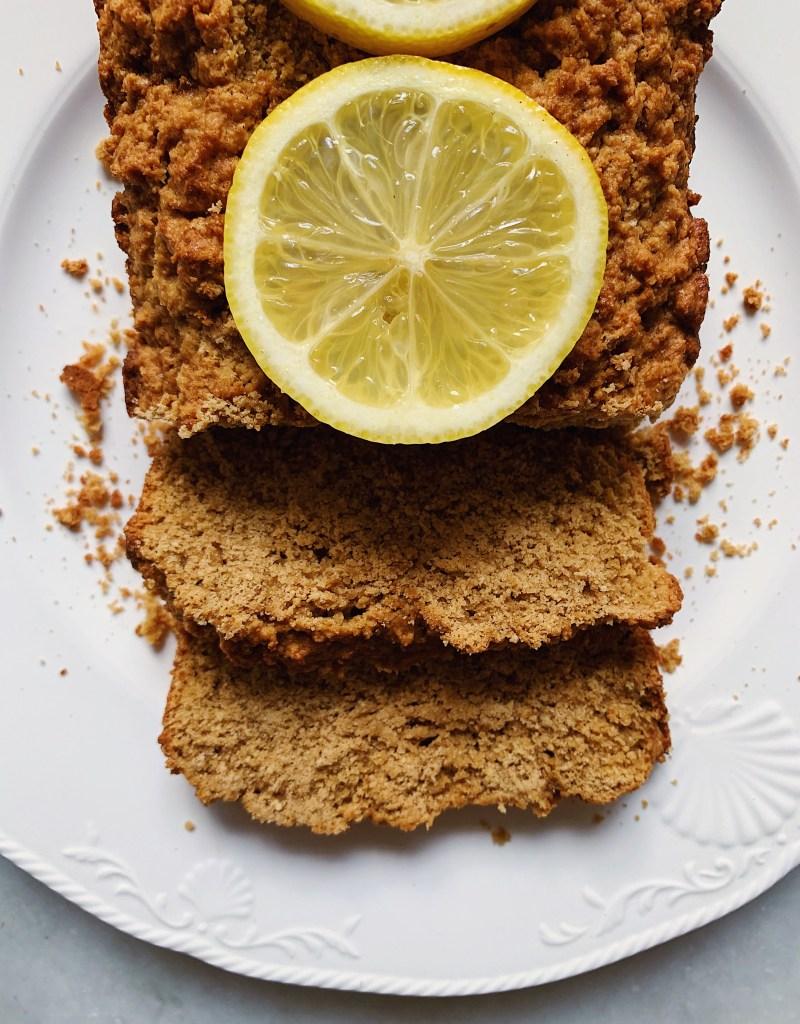 Lemon Loaf Cake (Gluten-Free, Dairy-Free, Nut-Free)