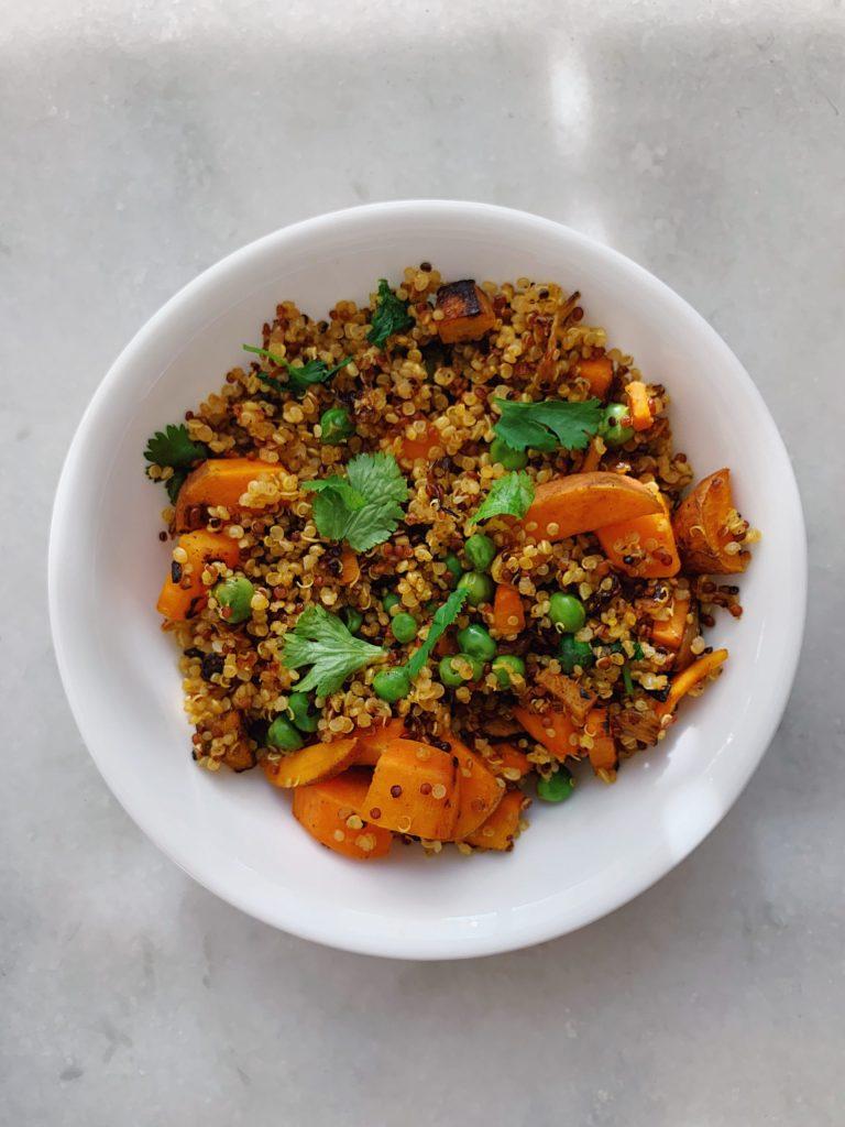 masala quinoa bowl
