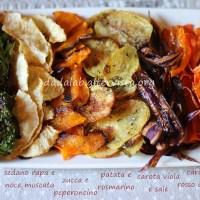 Chips di verdure al crisp