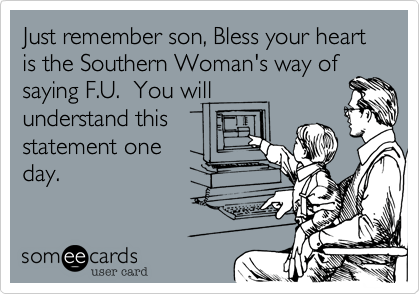 """The """"Kindness"""" of Southerners"""