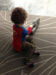 Superman, chores, exercise, Clark Kent, superheroes, comic books, dirt devil, fitness, dust buster