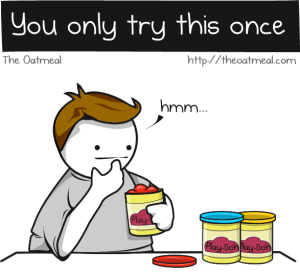 Play-doh, The Oatmeal, kids, parenting, toys, funny, health