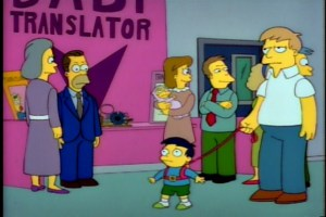 Simpsons, toddler leash, toddlers, leash, parenting, kids, fatherhood, discipline, behavior, family, home, TV