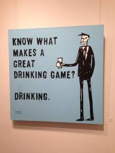 man v liver, neil hinson, drinking, funny, comic