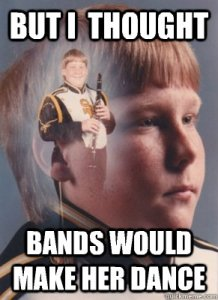 parenting, clarinet, band kid meme, men, stereotypes, handyman, tim allen, dads, sons, kids, children, home, lifestyle, teaching, development, family, anxiety, male anxiety