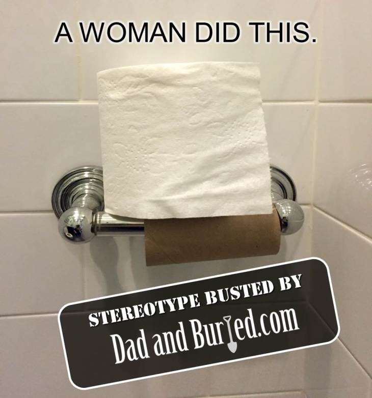 wordless wednesday, parenting, parenthood, women, men, stereotypes, mythbusters, just like us, marriage, funny, humor, photo, image, relationships
