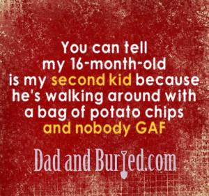 parenting, parenthood, dad and buried, mike julianelle, friends, relationships, funny, humor, truth, honesty, dad blog, dad bloggers, mommy bloggers, second kid