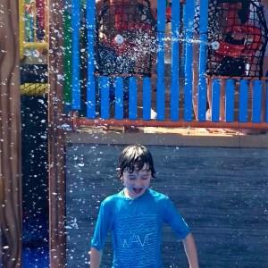 underwater, dutch wonderland, amusement park, parenting, dad and buried, cousins, pennsylvania, roller coaster, water park