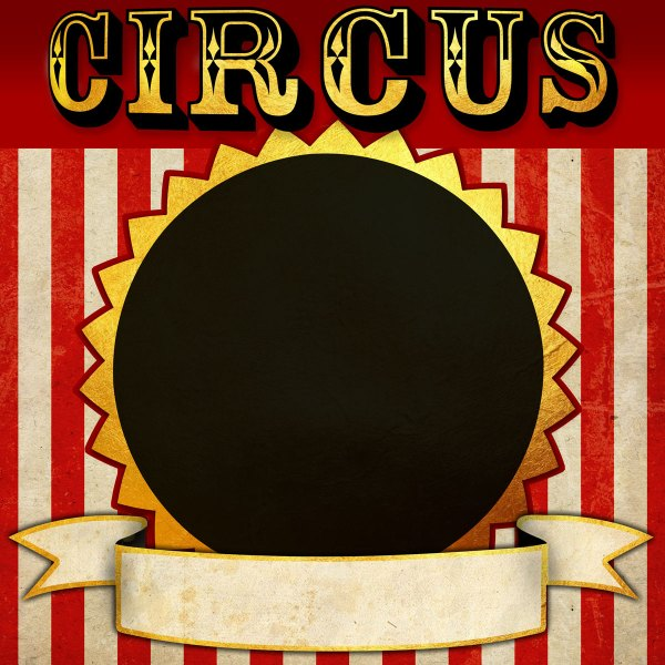 Circus Printable Photo Booth