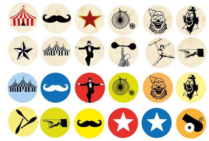 Circus Clipart collection 02