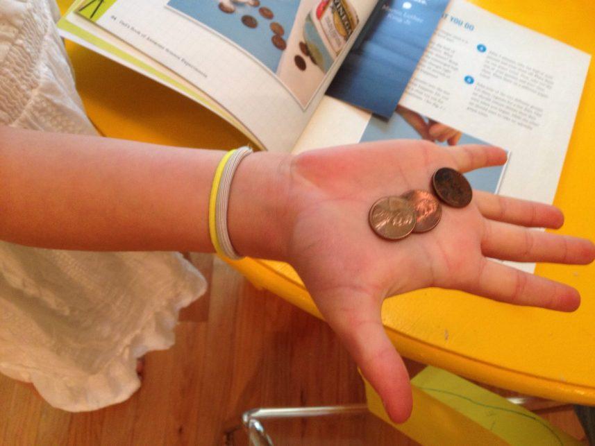 3 dirty pennies