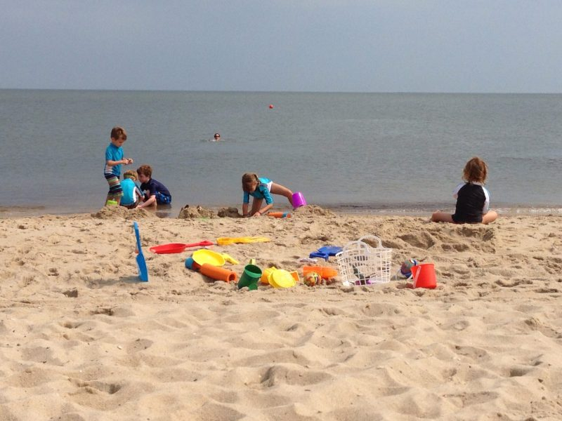 babies on DE beach2