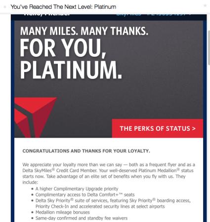 delta platinum!