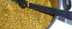 Lentil stew, Dal style