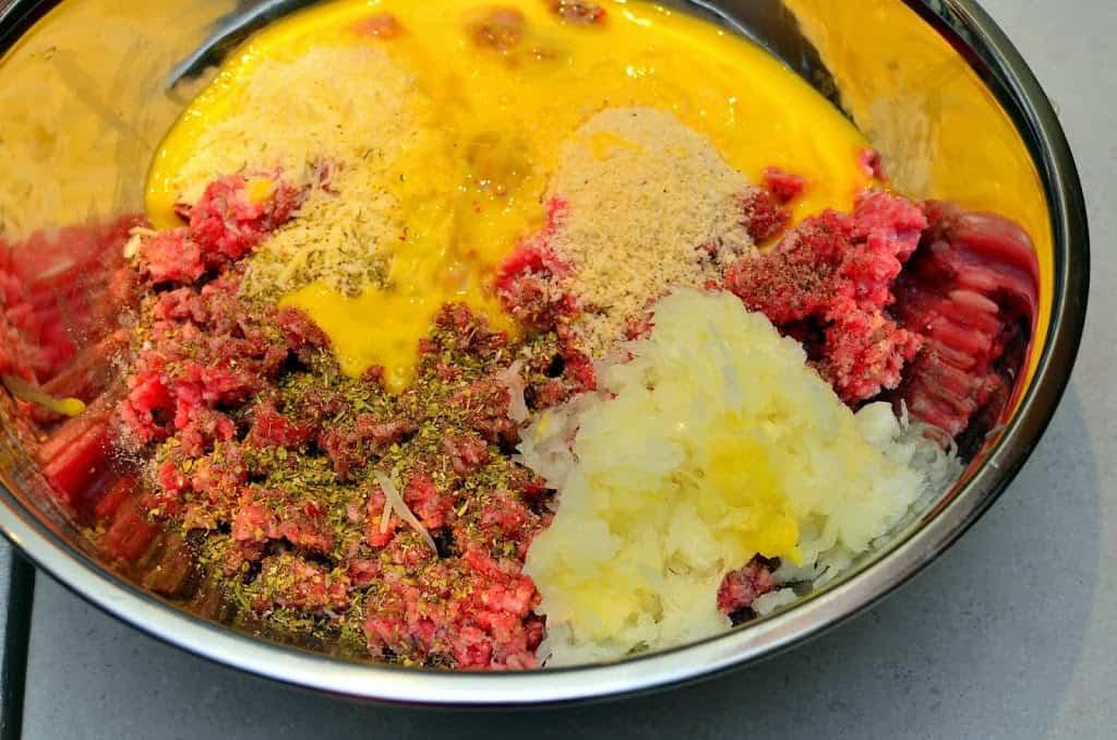 Baked Italian MeatballsDad Cooks Dinner