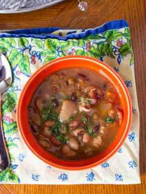 Pressure Cooker Bean Mix Soup