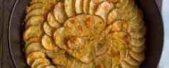 Cast Iron Spiral Skillet Potatoes