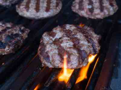 Duck Burgers with Blue Cheese-1030461
