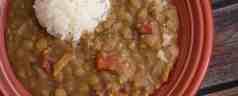 Pressure Cooker Lentil and Bacon Soup