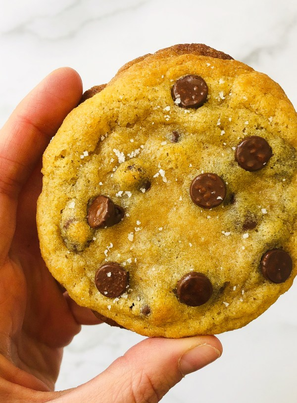 The Best Salted Chocolate Chip Cookies