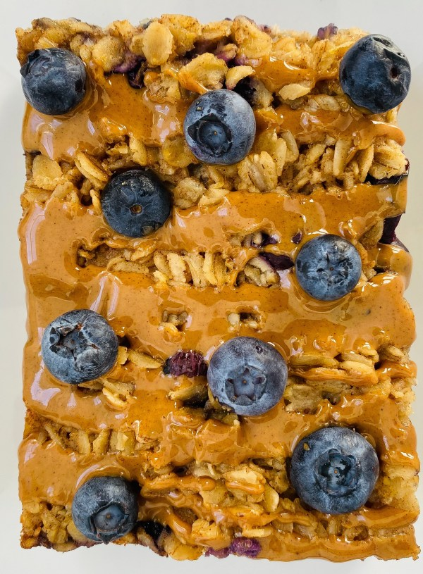 Blueberry Muffin Baked Oatmeal
