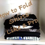 Fold Your Shirts Like a Pro! + Giveaway (closed)