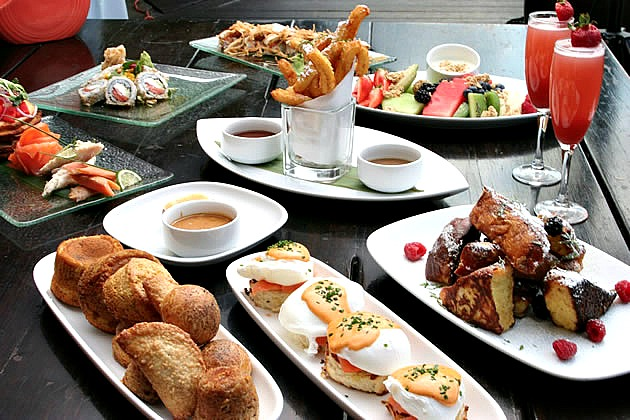 Sushi Samba weekend brunch